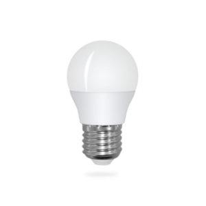 LED žárovka E27 G45 6W teplá bílá