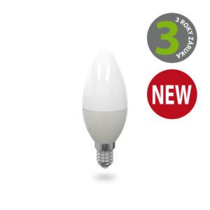 LED žárovka E14 C37 6W teplá bílá PREMIUM