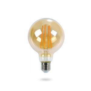 LED žárovka E27 ST64 4W teplá bílá