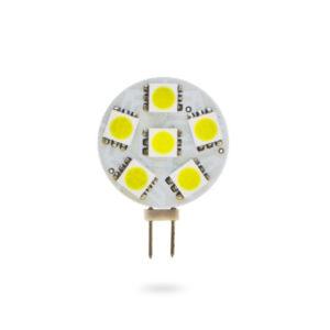 LED žárovka G4 SMD 1,2W studená bílá