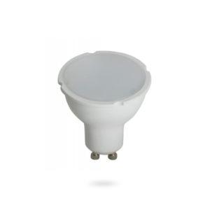 LED žárovka GU10 SMD 6W teplá bílá