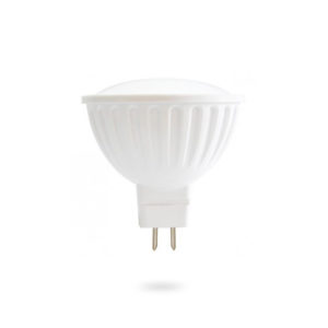 LED žárovka MR16 SMD 6W teplá bílá